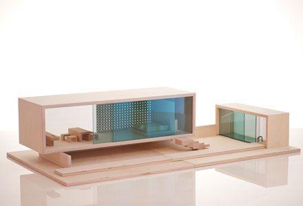 Villa sibis modern dollhouse