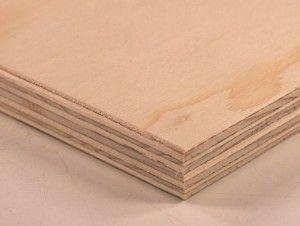 Birch plywood pannel