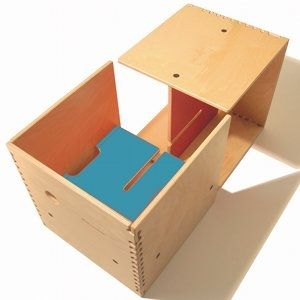 Perludi's kids furnishing 'Max in the box'