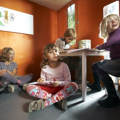 pedagogic potential of kids playhouses