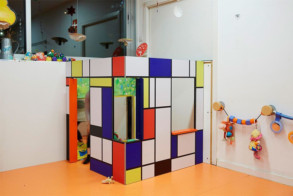 Indoor playhouse StijlHaus 2W