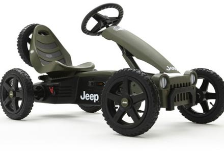 Jeep Adventure go-kart