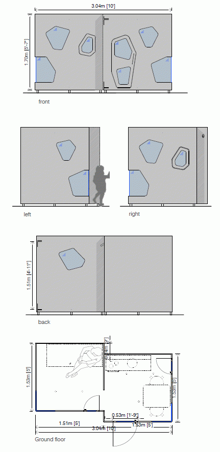 Luxury playhouse drawings