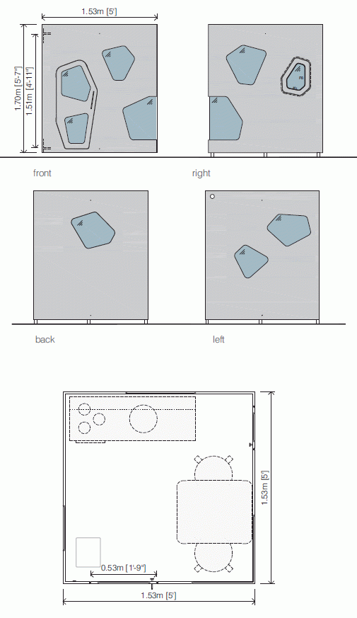 Outdoor playhouse drawings