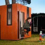 Wooden playhouse Hobikken Junior