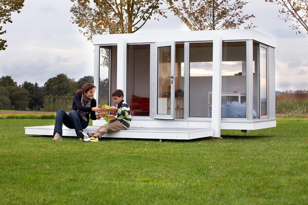 Caba as modernas para ni os smartplayhouse for Casitas de jardin infantiles