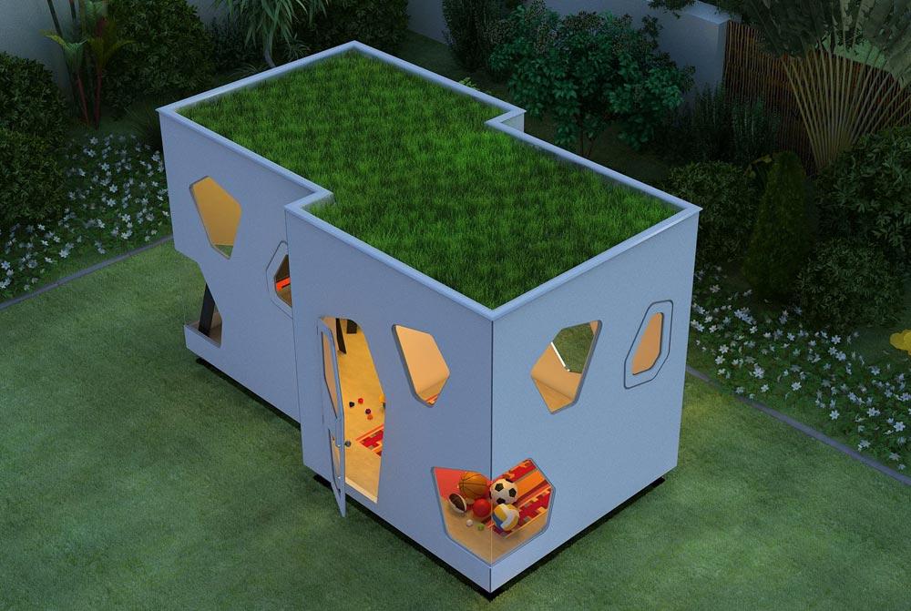 Casita para niños - SmartPlayhouse - Diseño y modernidad