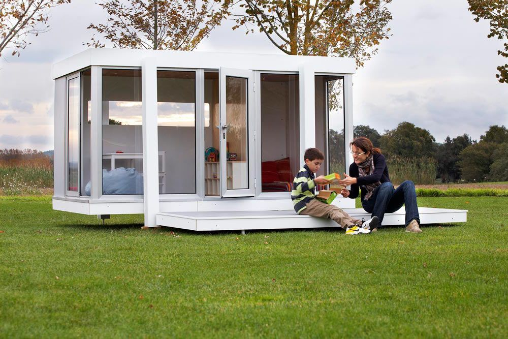 spielhaus garten f r kinder smartplayhouse. Black Bedroom Furniture Sets. Home Design Ideas