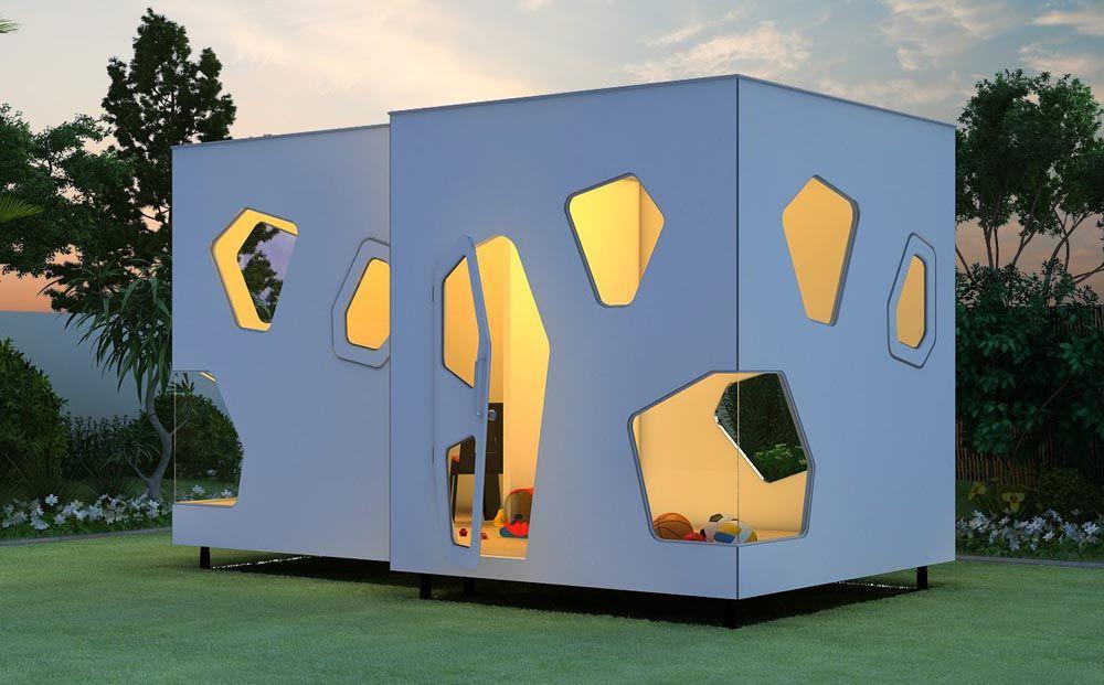 spielhaus garten für kinder - smartplayhouse, Gartengestaltung
