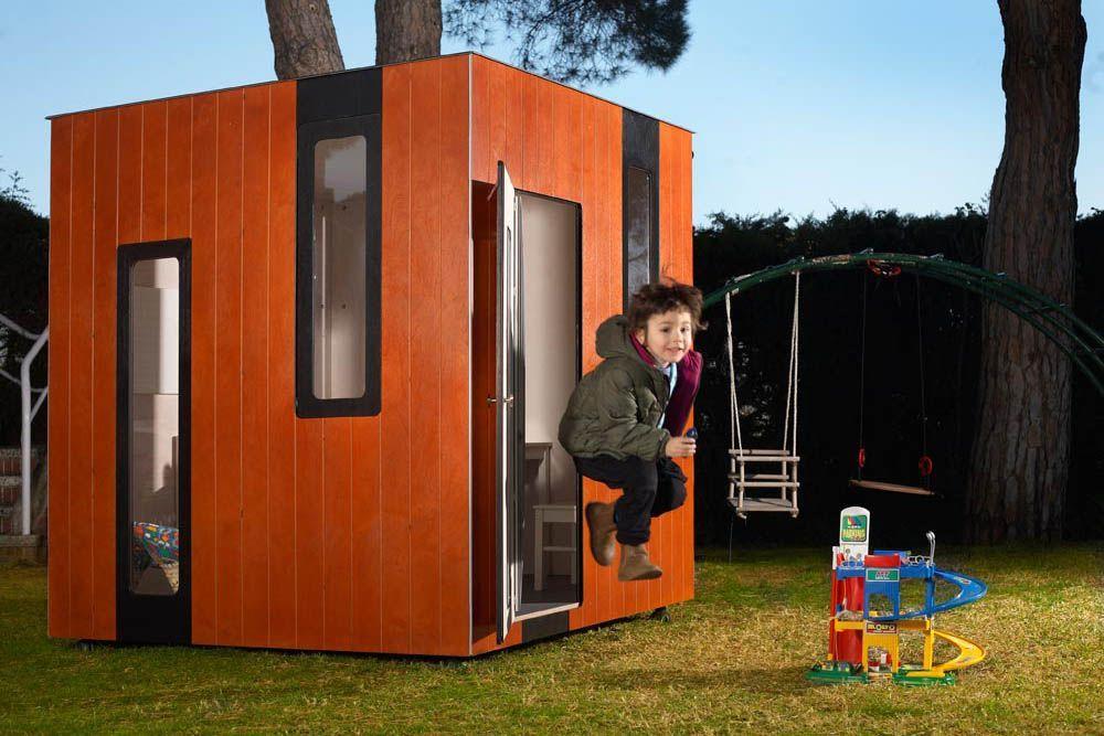 Holz Spielhaus Hobikken Junior