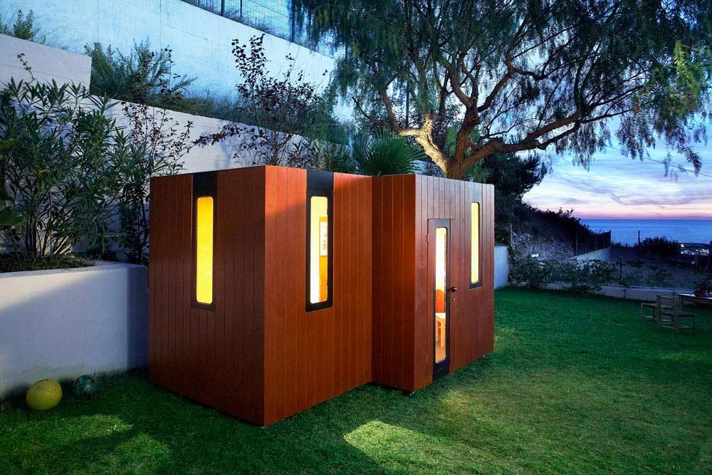 Holz Spielhaus Hobikken Twin