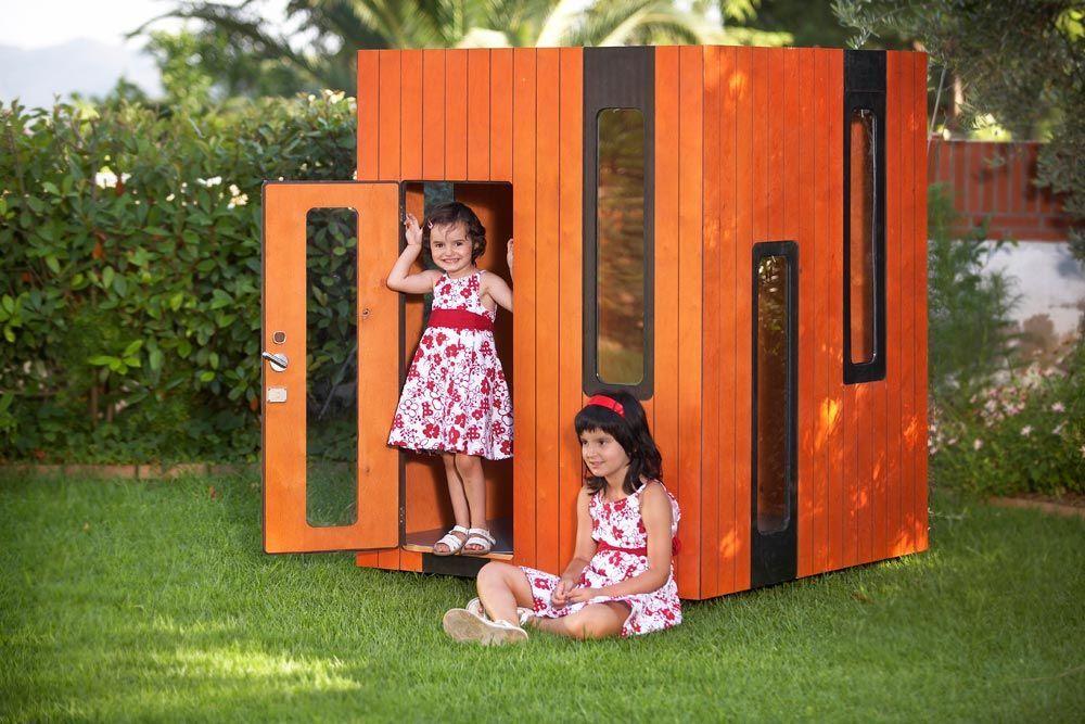 Holz Spielhaus Hobikken Mini