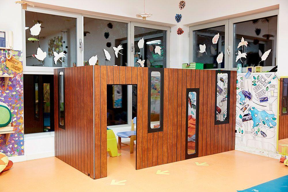 Indoor spielhaus Hobikken 3W