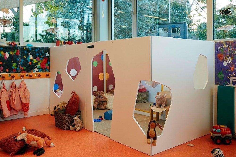 Maisonnette pour enfants Kyoto Indoor 3W