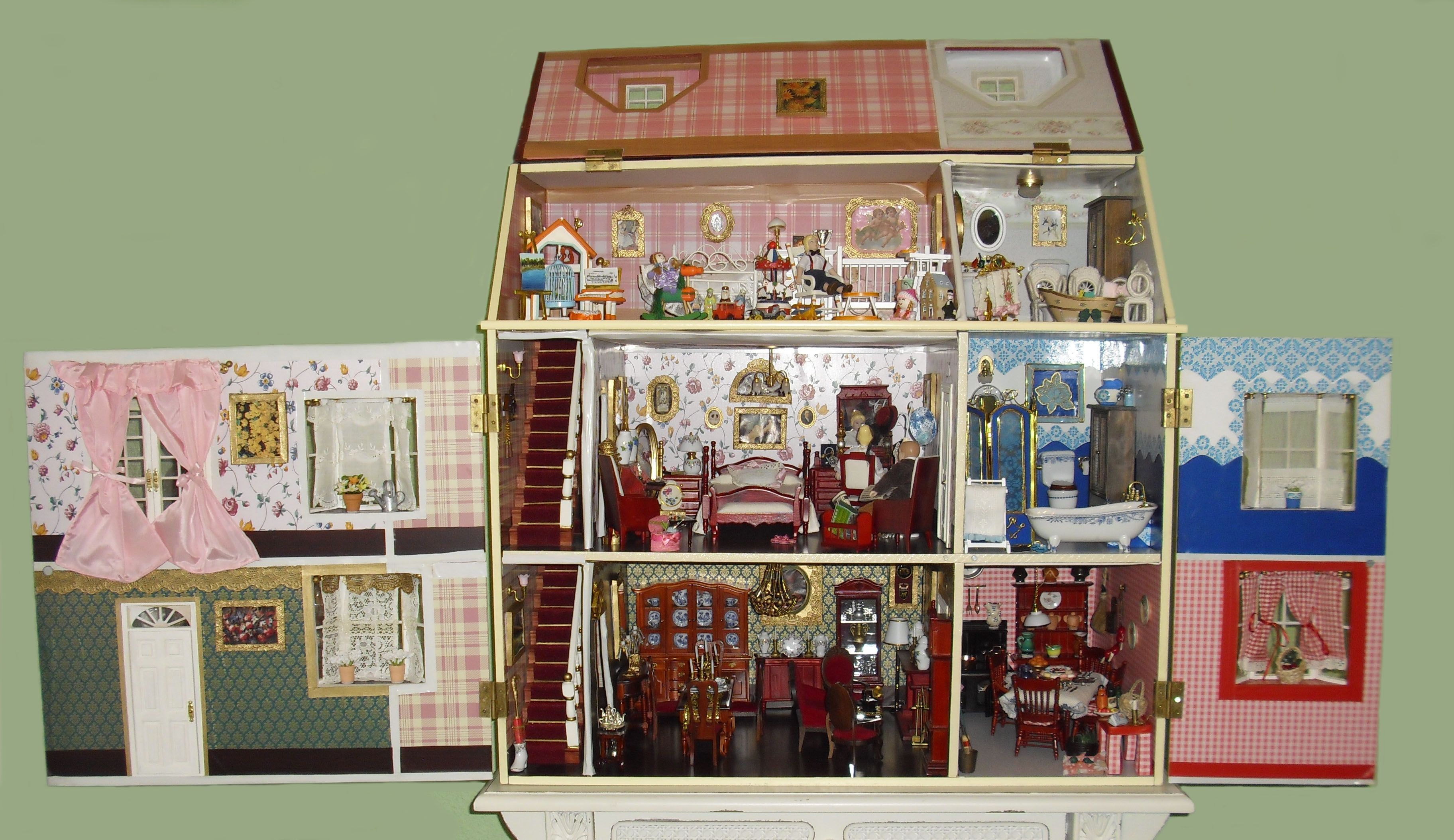 kids dollhouse to play