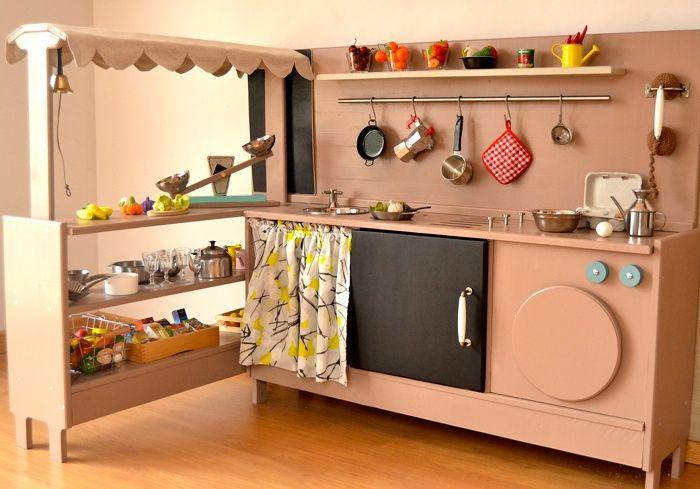Cocinitas un juego de ni os smartplayhouse modern for Planos para hacer una cocina de juguete