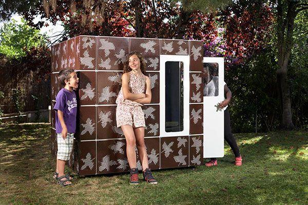 spielhaus luxus - casaforum - smartplayhouse, Gartengestaltung