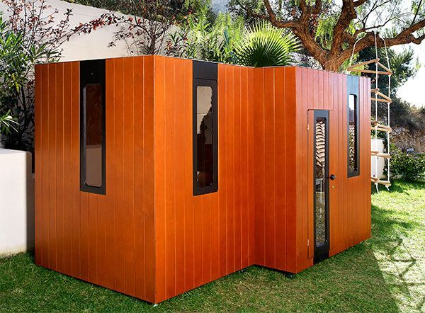 Cabaña de madera   hobikken twin   smartplayhouse