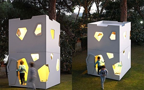 Cabaña de dos pisos - Kyoto Maxi - SmartPlayhouse