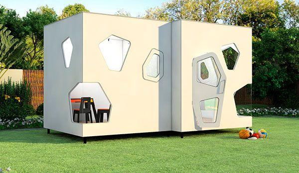 spielhaus für garten - kyoto twin - smartplayhouse, Gartengestaltung