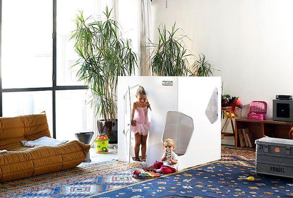Cabaña de interior para niñas