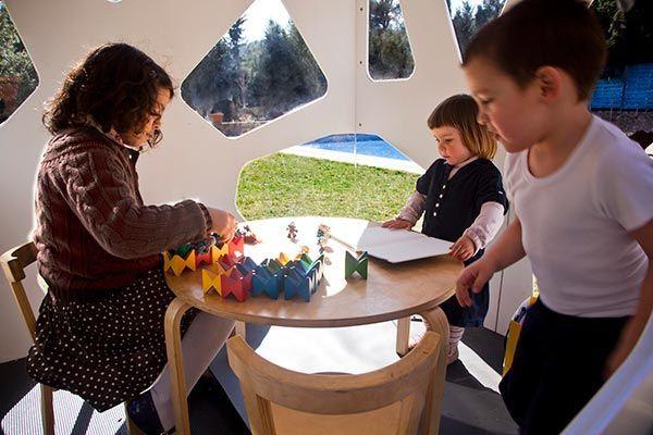 Cabaña de jardín de juguete