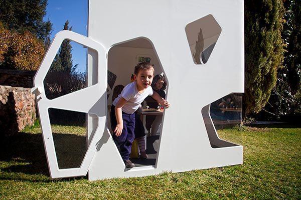 Cabaña de jardín para niños