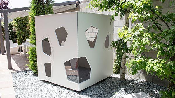 Cabaña de jardín moderna