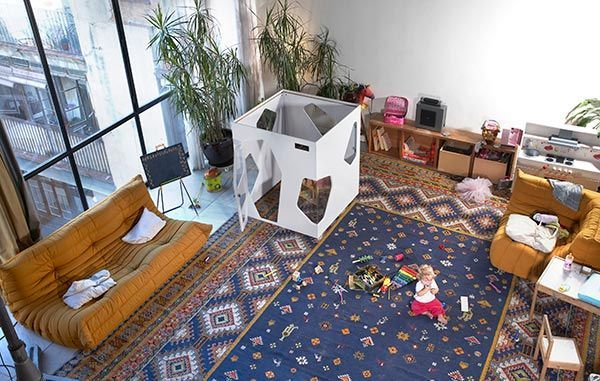 Cabane enfant interieur Kyoto Kids