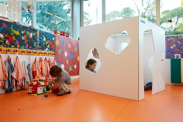 Indoor cubby house for kids