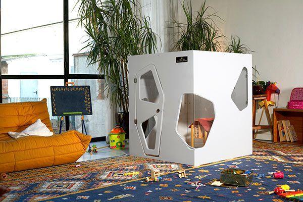 Cabaña de interior de diseño