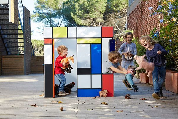 Modern playhouse for kids