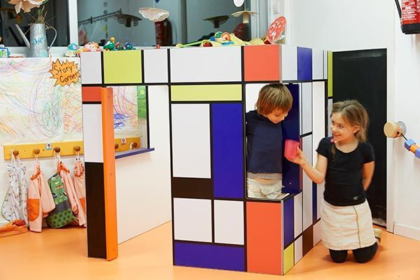 Modern playhouse for nurseries