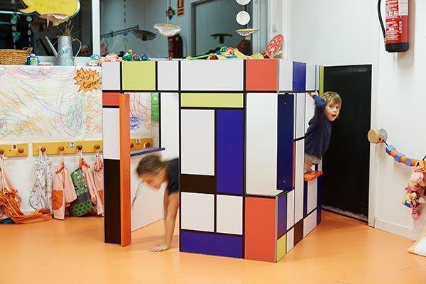 Spielhaus modern kinder